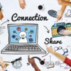 Connection Social Media Social Networkin
