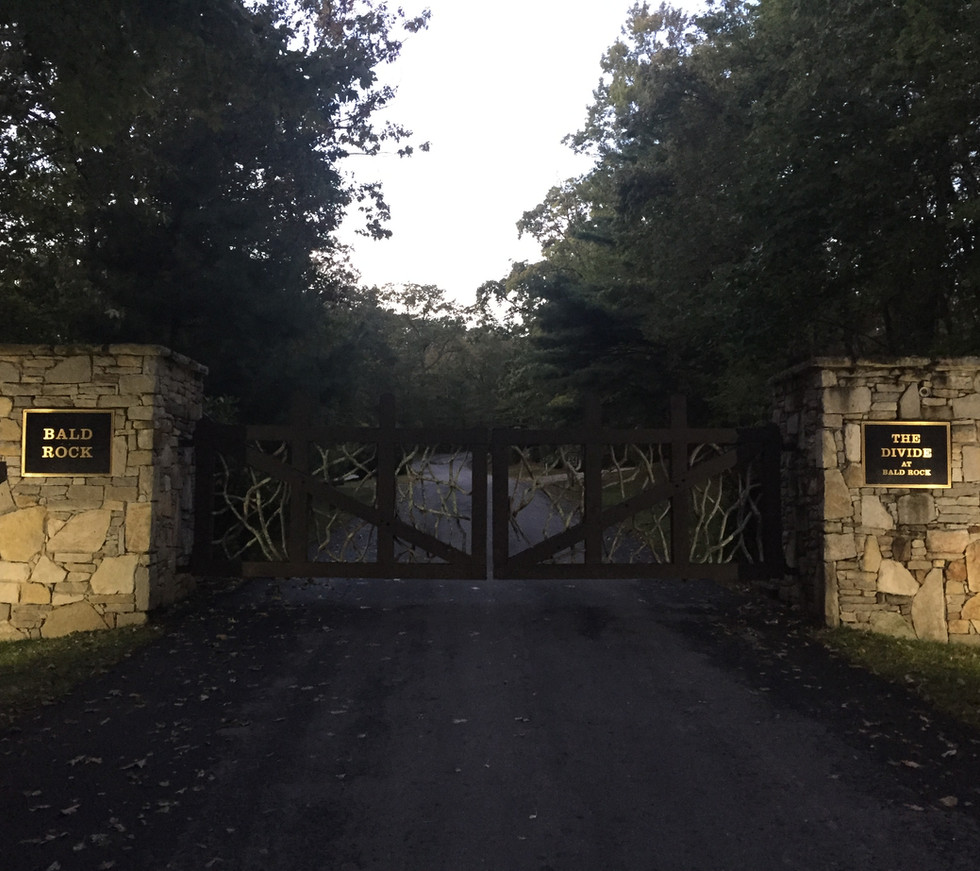 Welcome to Bald Rock! The community is private and gated. All roads are paved and well maintained even in the snowy months.
