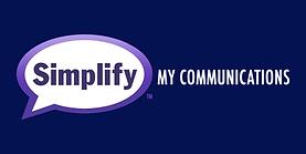 Simplify My Comms - Final Logo Horiz Dar