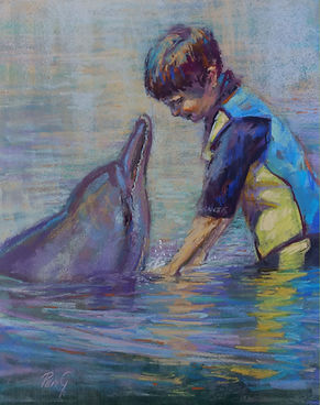 Like Minds-When Harry met Olllie pastel
