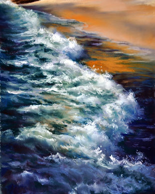Lyn Dief Rhythms of the Sea - Sunset Wav