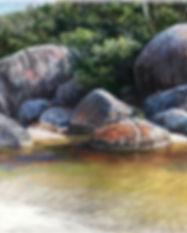 Lyn Mellady river and rocks.JPG