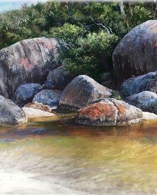 Lyn Mellady river and rocks.JPG
