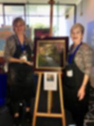 Liz Haywood-Sullivan Presents her painti