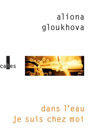 """Premier roman d'Aliona Gloukhova """"Dans l'eau je suis chez moi"""" aux éditions Vertic"""