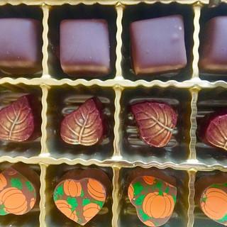 Autumn chocolates