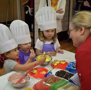 Children's chocolate class
