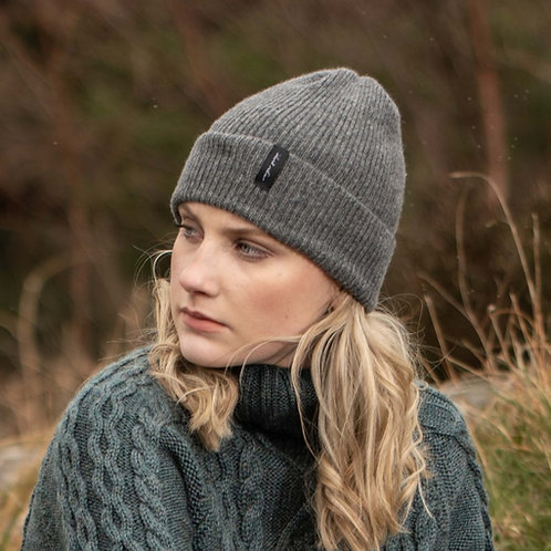 Slate Grey Cosy Winter Hat