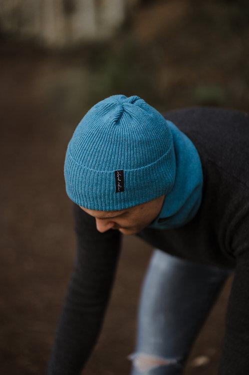 Unisex Teal Cosy Winter Hat