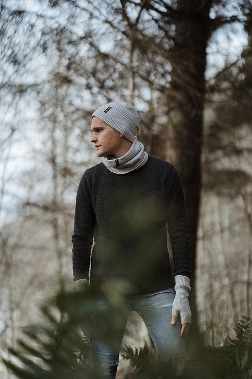 Unisex Light Grey Winter Hat