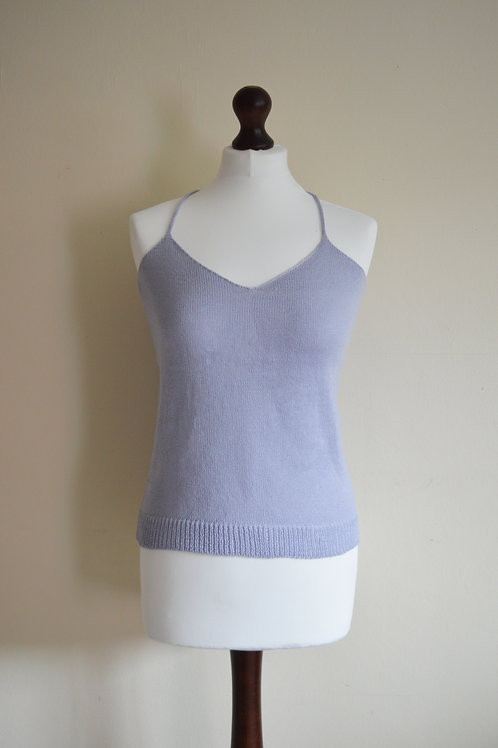 Light grey knitted cami