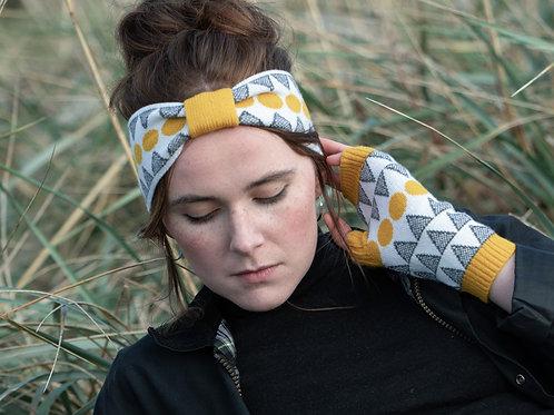 'Solar' Headband in Mustard