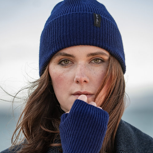 Royal Blue Cosy Winter Hat