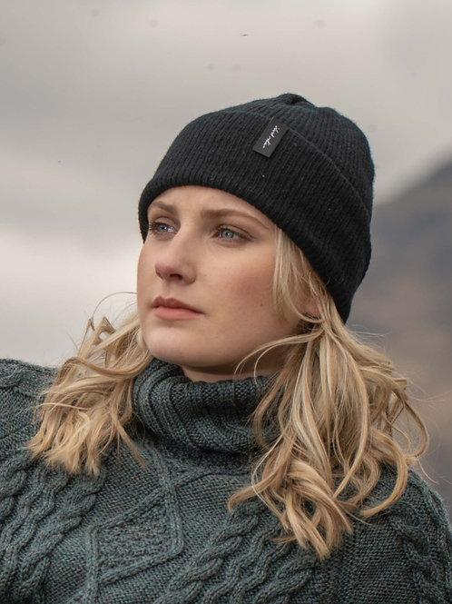 Black Cosy Winter Hat