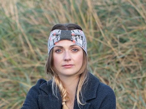 'Headlights' Headband in Coral
