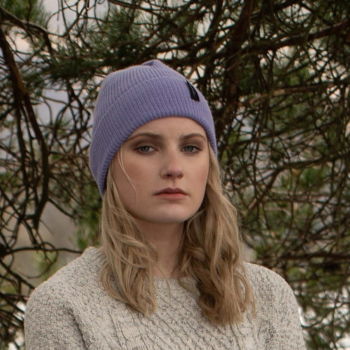 Lilac Cosy Winter Hat