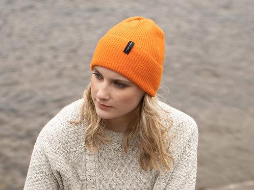 Bright Orange Cosy Winter Hat
