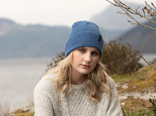 Denim Blue Cosy Winter Hat