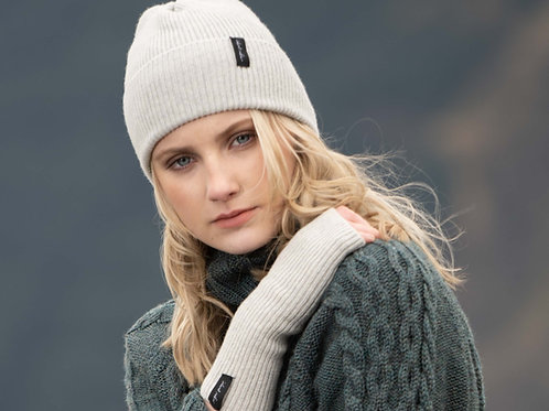 Light Grey Cosy Winter Hat