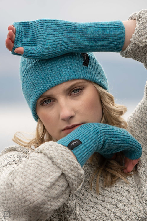 Teal Cosy Winter Hat