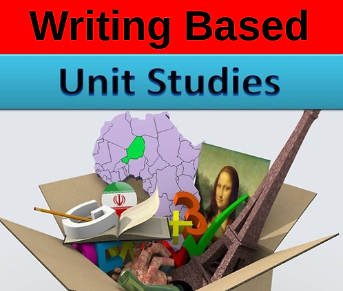 6th-8th Writing Based Units Studies ( full year )