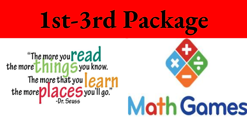 1st-3rd Grade Package ( term )