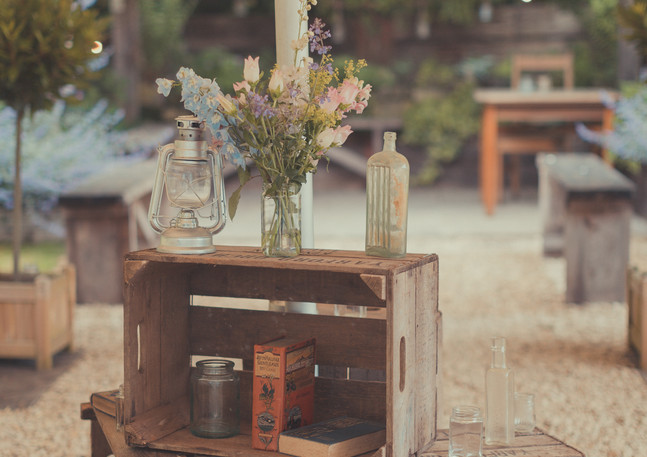Rustic charm Wedding styling Wiltshire