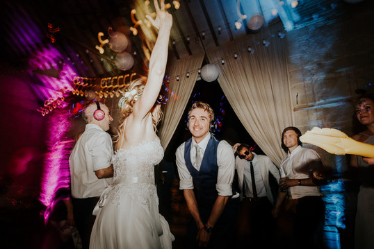 Silent Disco Wedding _ Ashley Wood Farm