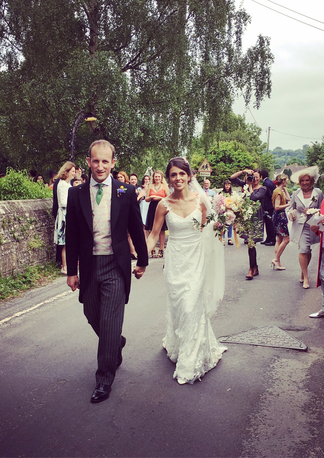 Durweston Church Wedding, Dorset