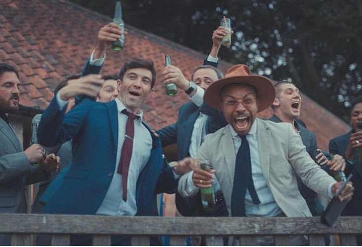 World Cup match during a wedding at ashl