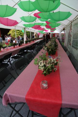 Budget wedding Marquee Decoration