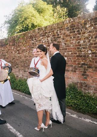 Zaffa Wedding band, Dorset Wedding