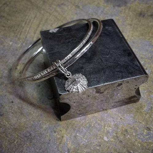 Sterling Silver Twin Bangle