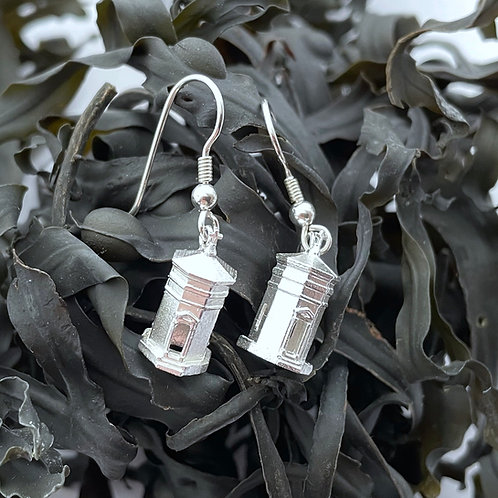 The Bude Storm Tower Earrings - Sterling Silver 925
