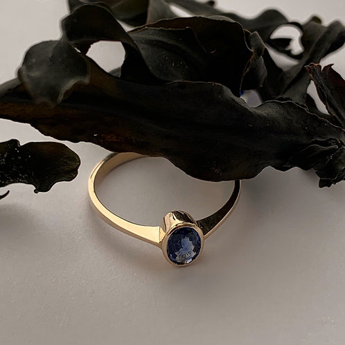 Sapphire Ring in 9ct Gold   T4713