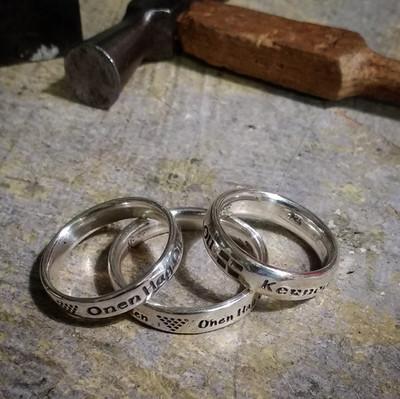Silver Cornish Ring