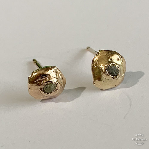 Diamond Earring Studs in 9 ct gold