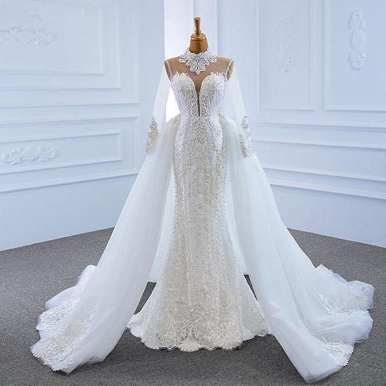 Wedding dress 2 in 1