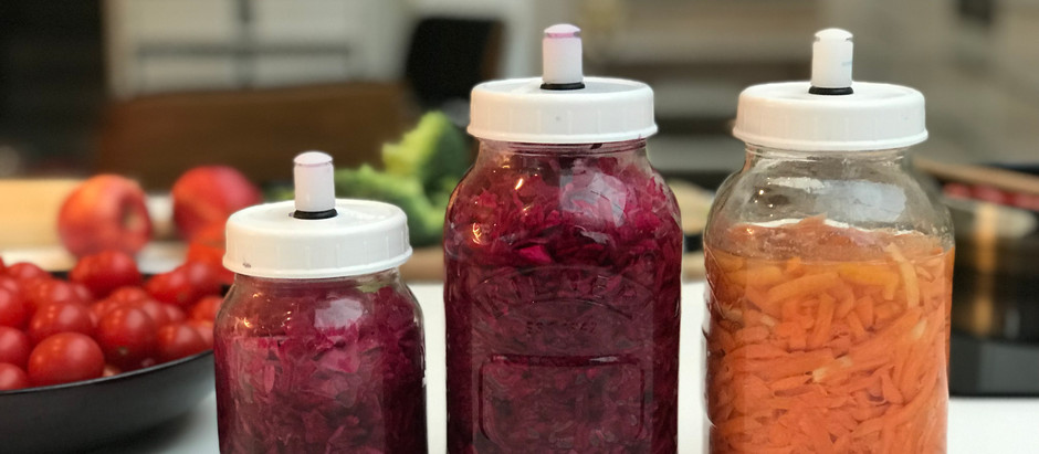 Eat fermented foods for a healthy gut
