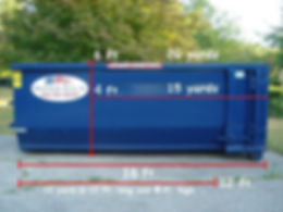 Patriot Waste Dimensioned Dumpster Corre