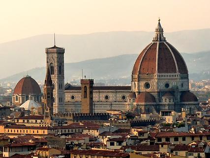 La cathédrale Santa Maria del Fiore à Florence