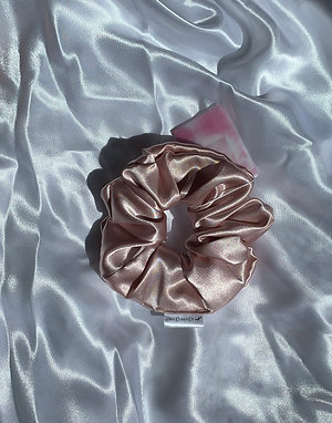 Bridal Blush Scrunchie