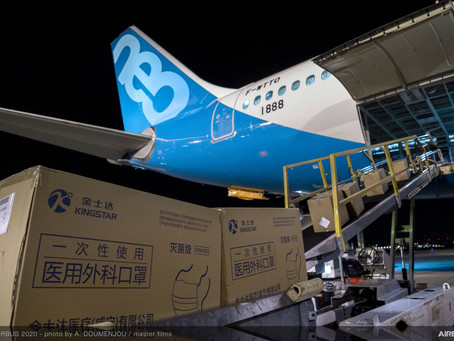 AIRBUS A330NEO TEST PLANE RETURNS TO FRANCE WITH 2M Masks
