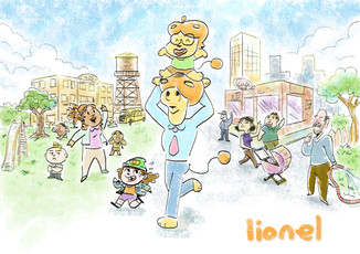 Lionel and the town.jpg
