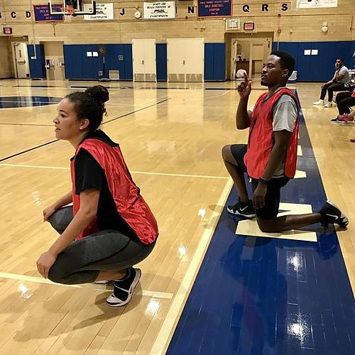 Alumni v. Students Basketball Game