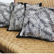 cushion bordir kelapa hitam