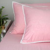 sprei microtex pink