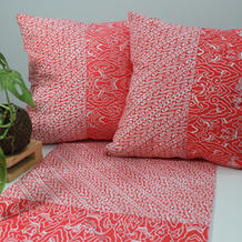 cushion batik orange