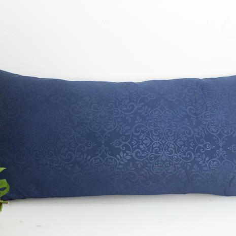 sarung bantal cinta microtex biru