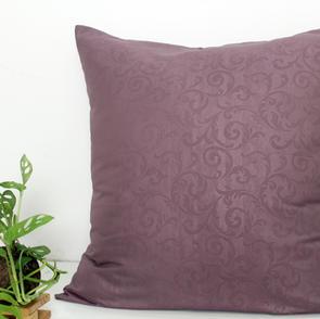 sarung bantal lantai microtex ungu